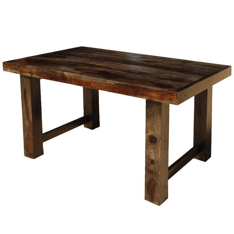 dallas ranch contemporary solid wood rectangular 60 on solid wood dining table id=72850