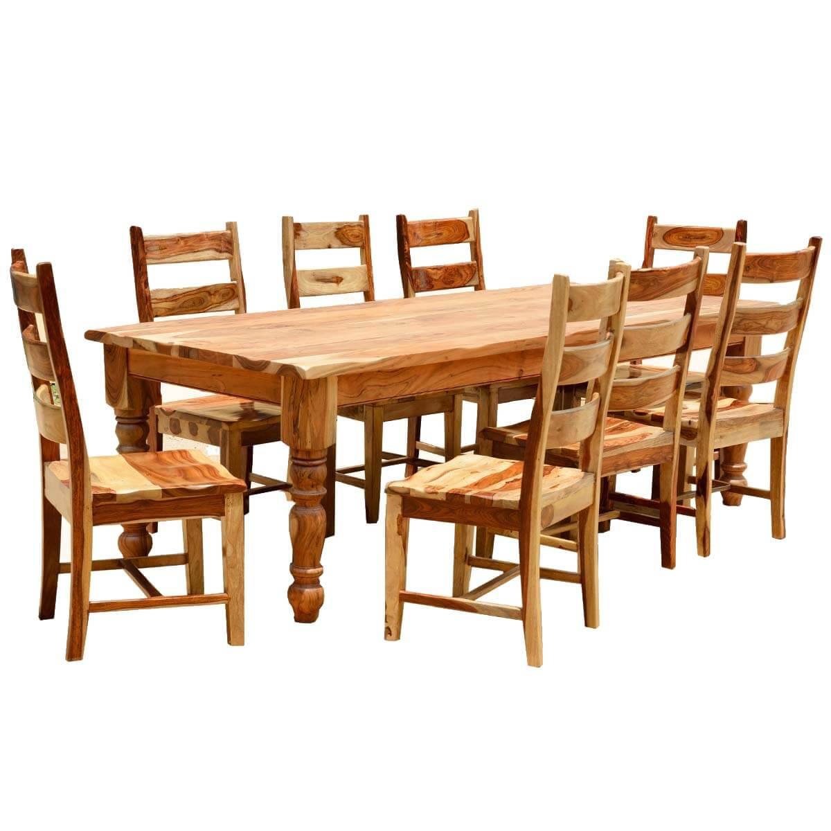 Rustic Wood Dining Sets