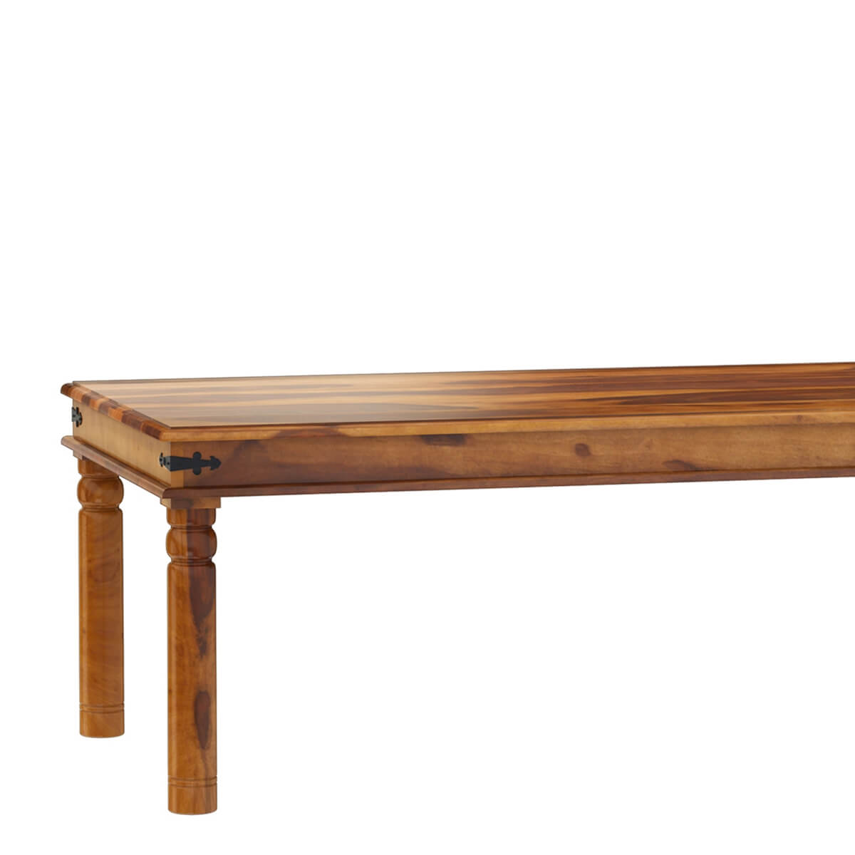 san francisco large rustic solid wood dining table on solid wood dining table id=61877