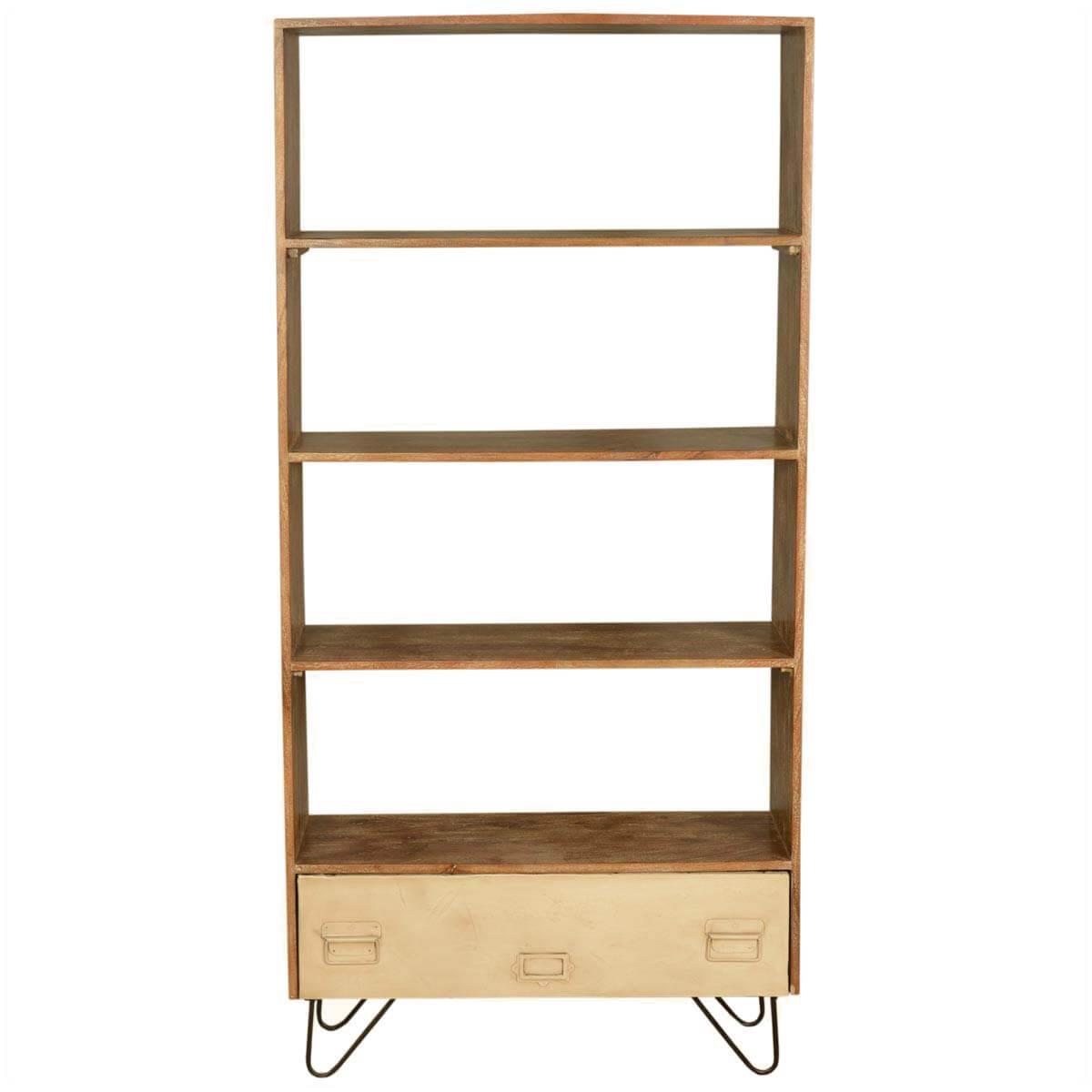 Mormortals Wood Open Back Bookcase