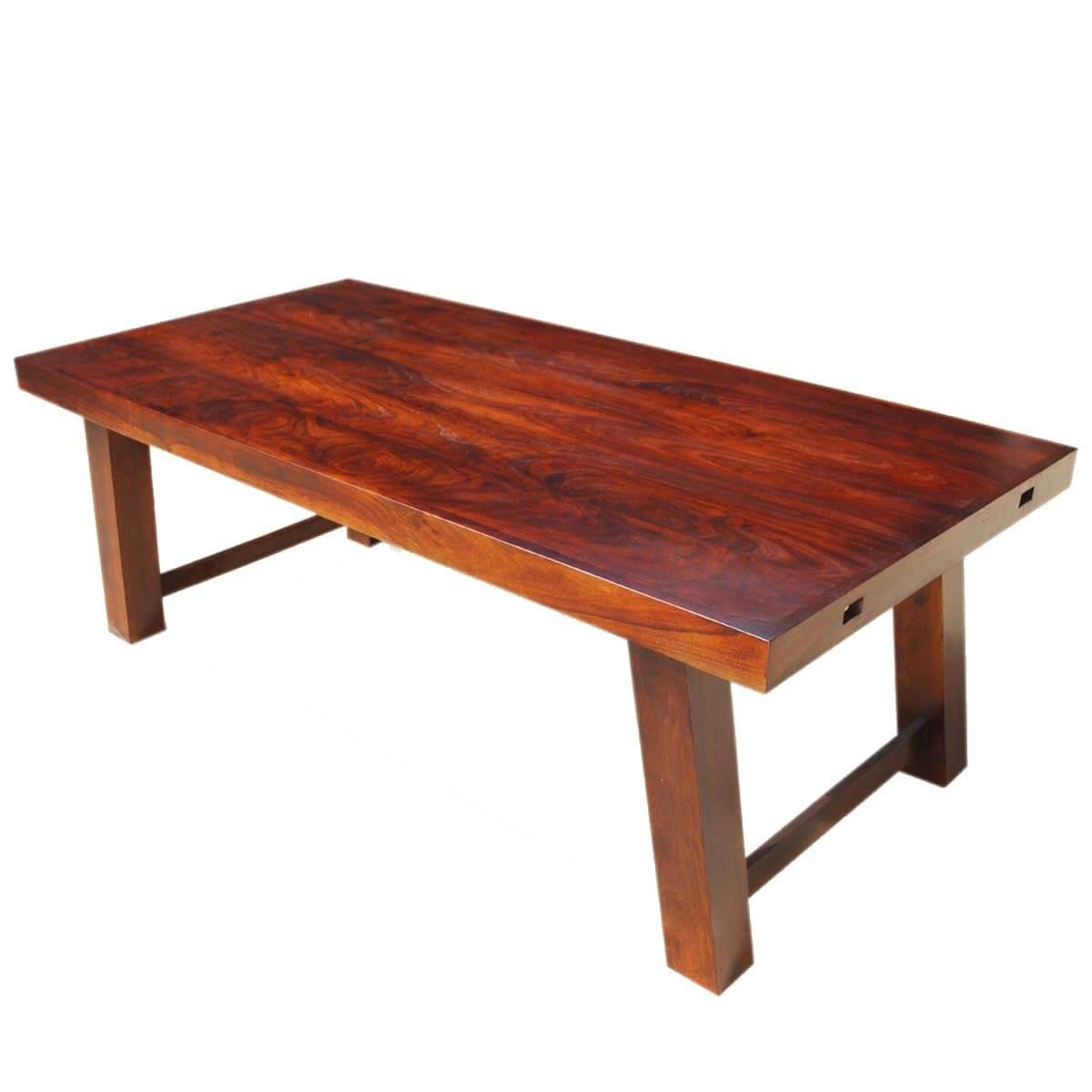sierra nevada rustic solid wood large extension dining table on solid wood dining table id=96310
