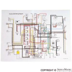 Porsche Parts Full Color Wiring Diagrams (5068)