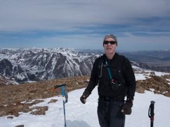 Summit East Peak Dunderberg looking North