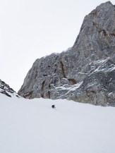 """4-8"""" of dust on edgeable crust on the upper 300 feet, then the 12-16"""" powder shots began."""