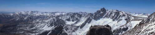 Mount Humphreys and South on 4/10