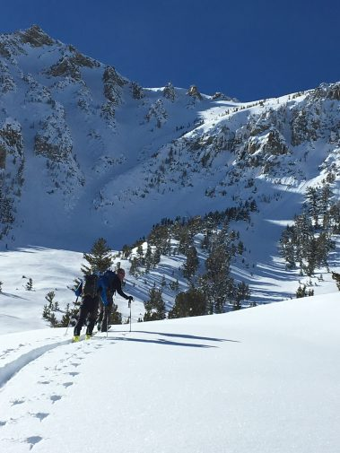 Lee Vining Canyon 1/15. photo: Jeff Montgomery