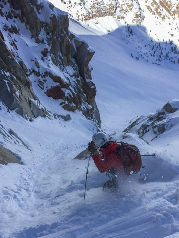 Jimmy goes steep and deep in the High Sierra.