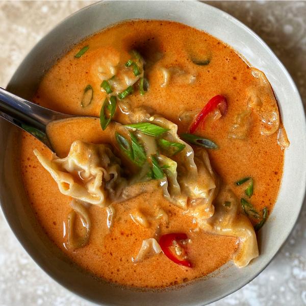 creme-fraiche-gochujang-wonton-soup