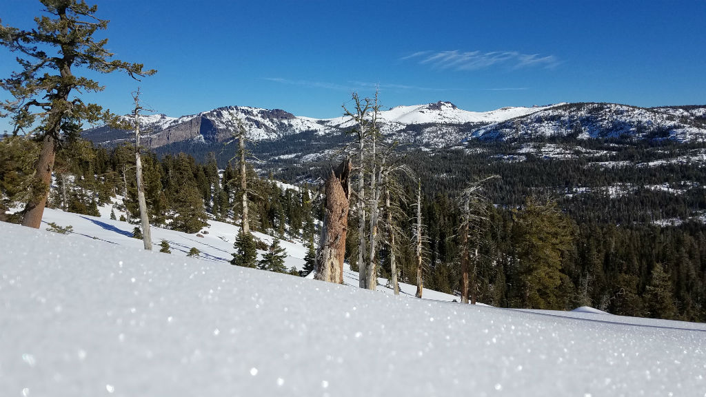 Snowshoeing Off HWY 88 ~ What a View | Sierra REC Magazine