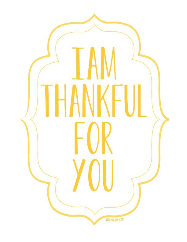 I am Thankful for YOU Giveaway!
