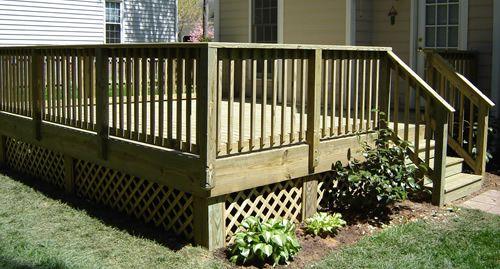 Deck Railing Ideas Privacy