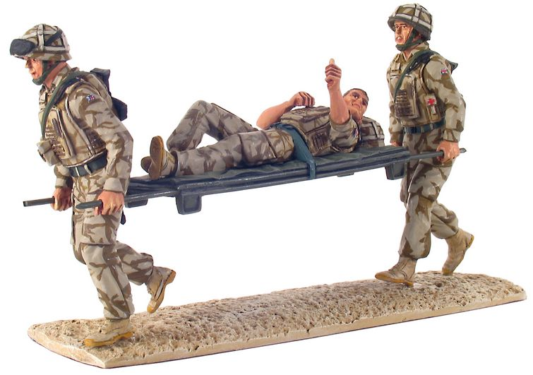 Help For Heroes Modern British Army Stretcher Bearer Set