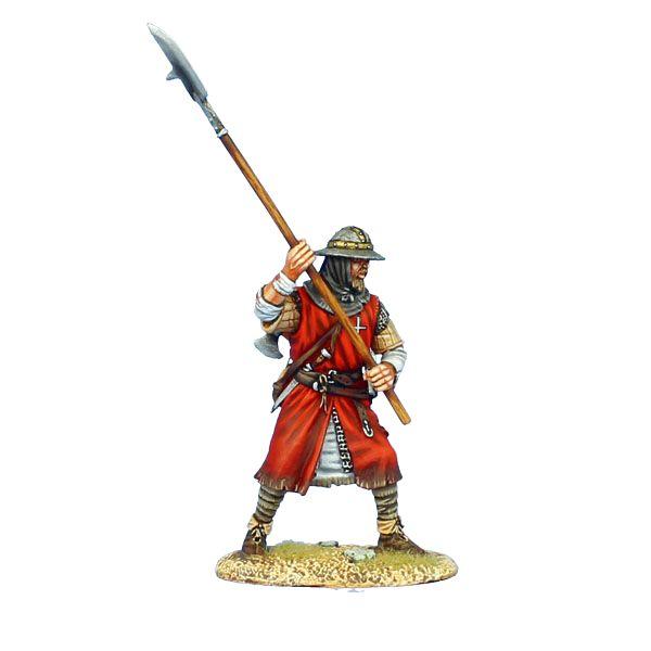 CRU092 Hospitaller Knight With Halberd