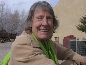 Christine Mulholland, great-grand daughter of William Mulholland, aqueduct creator.