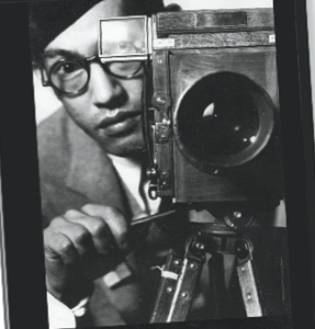 Toyo Miyatake and camera