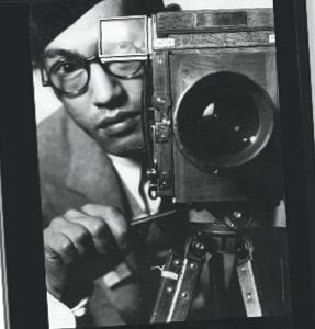 Toyo Miyatake and camera