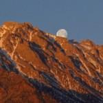 Moonset on Mt. Bradley.  Photo by Andrew Kirk