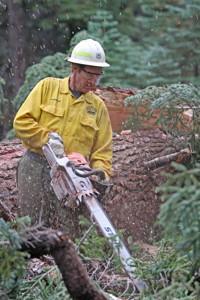 District Ranger Jon Regelbrugge.  All photos by Cheryl Hogan
