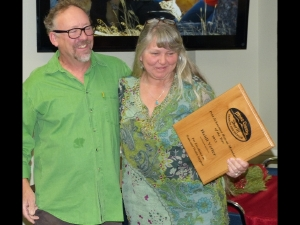 Pete Schoerner Rescue Member of the Year, Heidi Vetter.