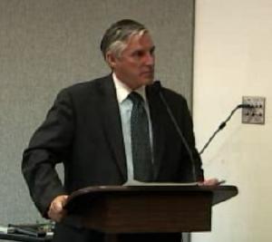 Moderator Brent Truax