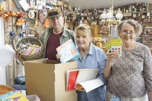 Thad Taylor, Kay O'Brien and Jody Cutler, photo by Pat Nahin
