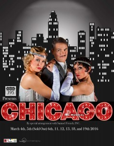 CHICAGO Playbill Cover
