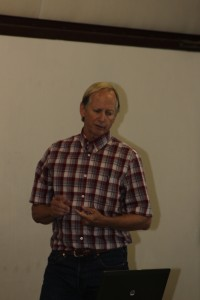 Mark Grivetti, geohydrologist with consultants Geosyntec
