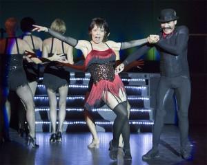 Velma (Jennifer Collins) and Assistant Choregrapher and Dancer Jose Pizana Photos courtesy of Bob Rice