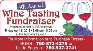 BUHS Wine Tasting Fundraiser (1)