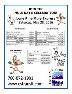 Mule Days LP EXP Flyer