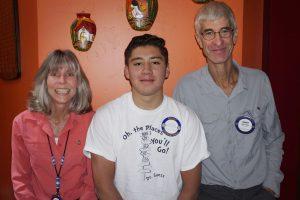 Photo by Ed Nahin Sue Lyndes, Bladimir Figueroa and Robert Atlee Photo courtesy of Ed Nahin