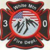White Mountain Fire Protection Distric shoulder patcht