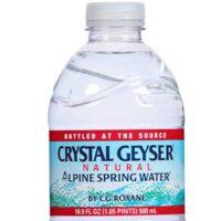 Crystal Geyser bottle
