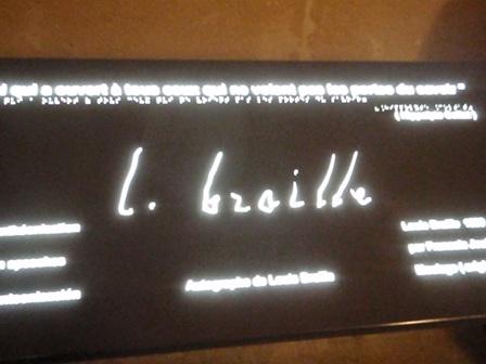 Pantheon - Braille
