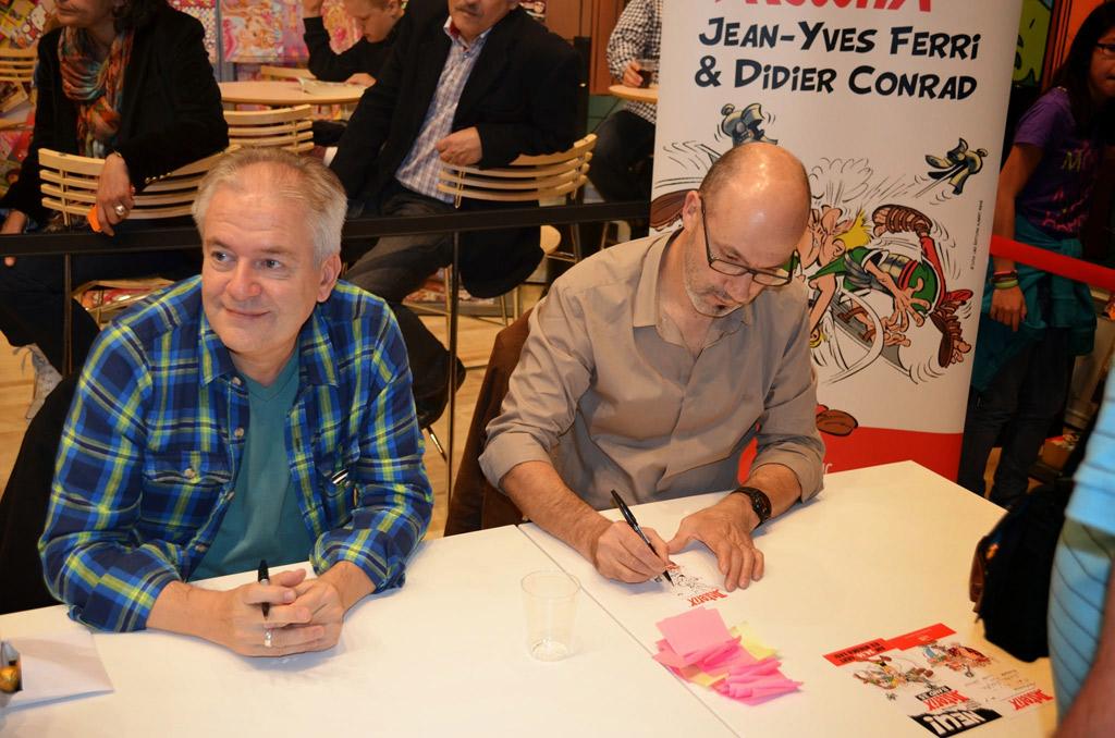 Asterix tridsiatku literárnych hviezd