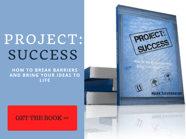 Get my book Project: Success Today!