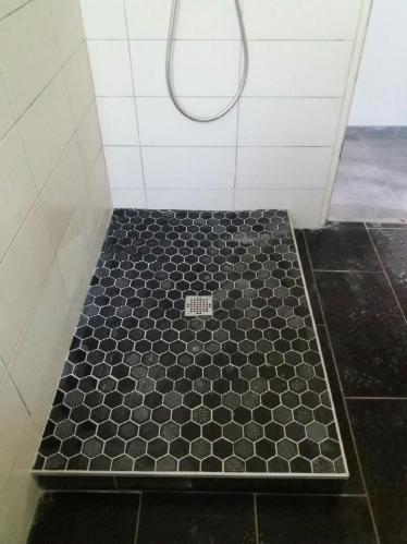 carreleur, douche italienne, douche à l'italienne, devis douche italienne