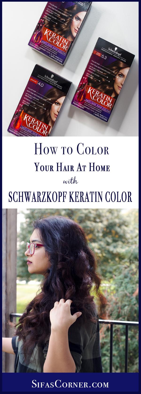 howto Schwarzkopf Keratin Color