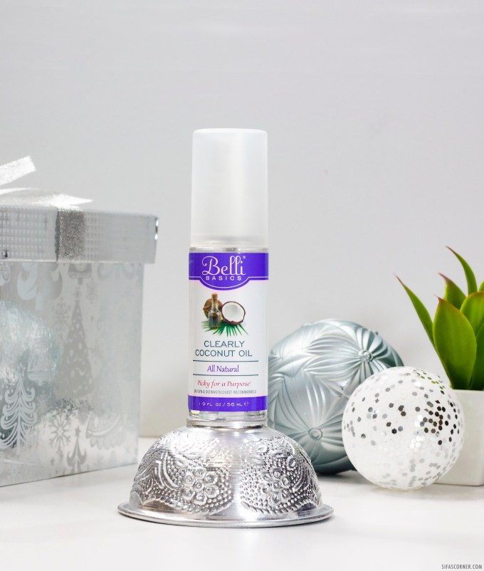 Natural Beauty Products Christmas Gift- belli coconut oil