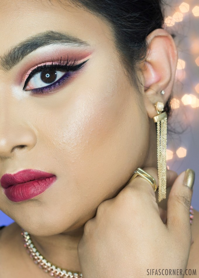 Rose Gold Cutcrease Makeup For Hooded Eyes Sifas Corner