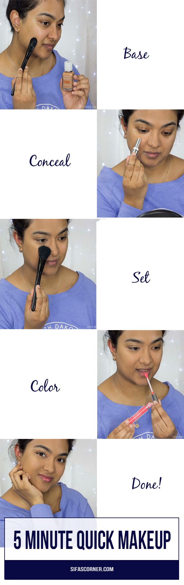 how to quick makeup