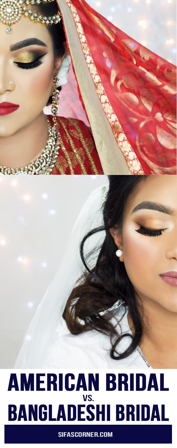 american bridal-bangladeshi bridal-makeup