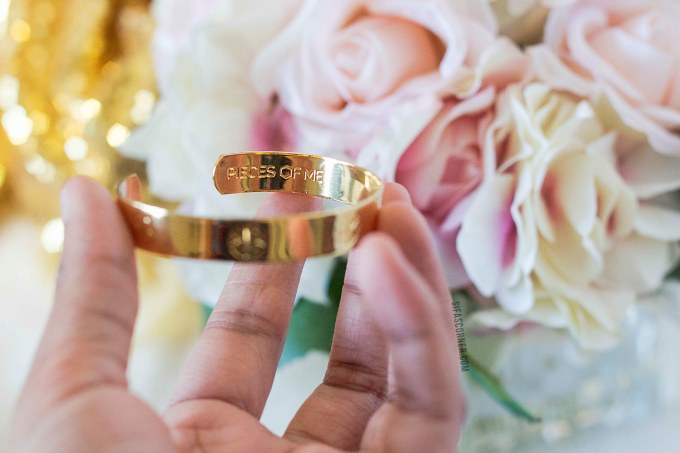 Pieces Of MeStrong Cuff Bracelet PERSONALIZED jewelry-Sifa's Corner