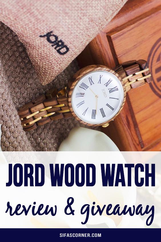 Jord Wood Watch CASSIA