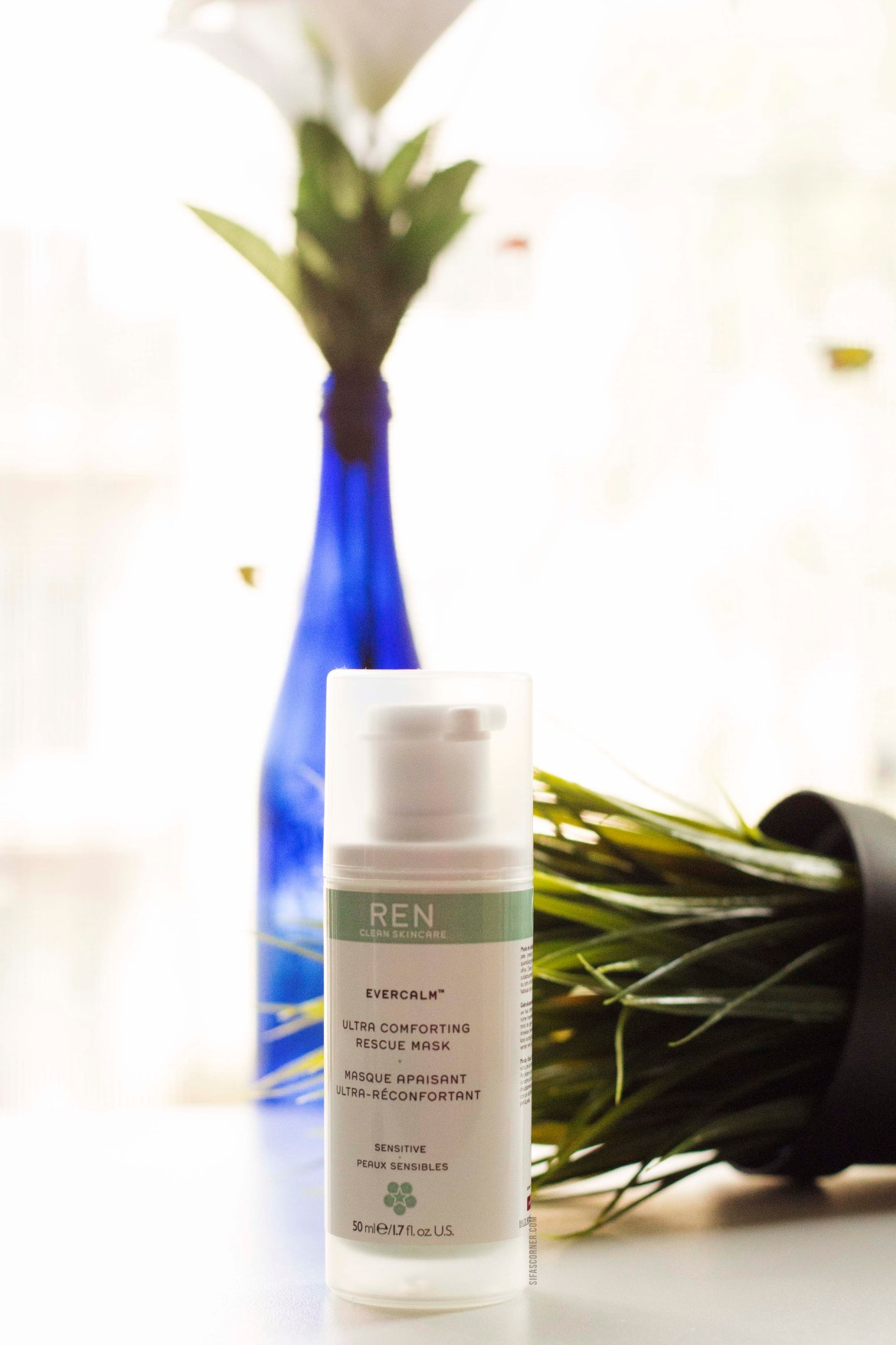 Winter to Spring Skincare- 4 Face Masks for Smoother Clear Skin-REN CLEAN SKINCARE Evercalm™ Ultra Comforting Rescue Mask: