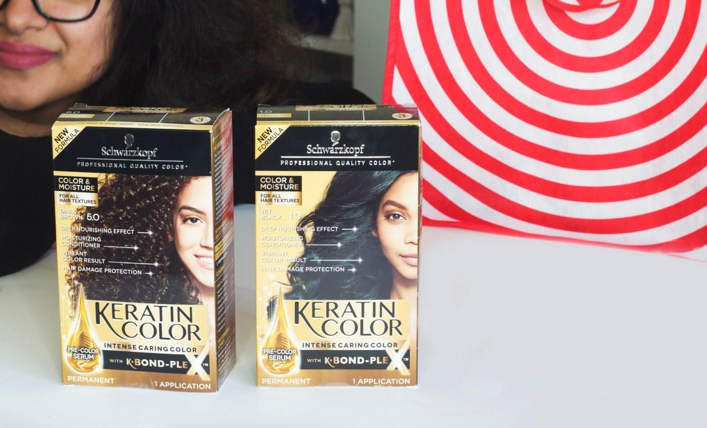 Schwarzkopf Keratin Color Moisture hair color review-Sifa's Corner
