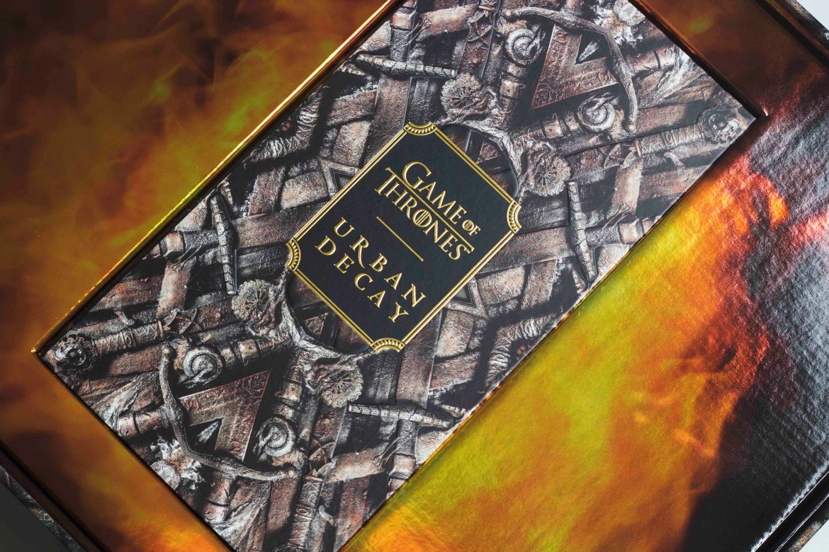 Urban Decay X Game Of Thrones Eyeshadow Palette | UDxGOT - Sifa's Corner