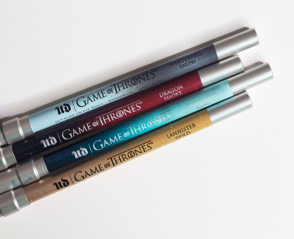 Urban Decay| UDxGOT | GAME OF THRONES COLLECTION- 24/7 glide on eye pencils
