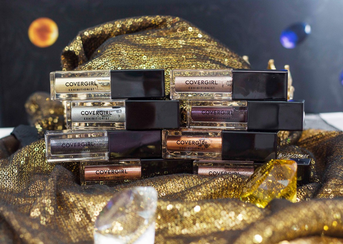 Covergirl Exhibitionist Liquid Glitter Shadow