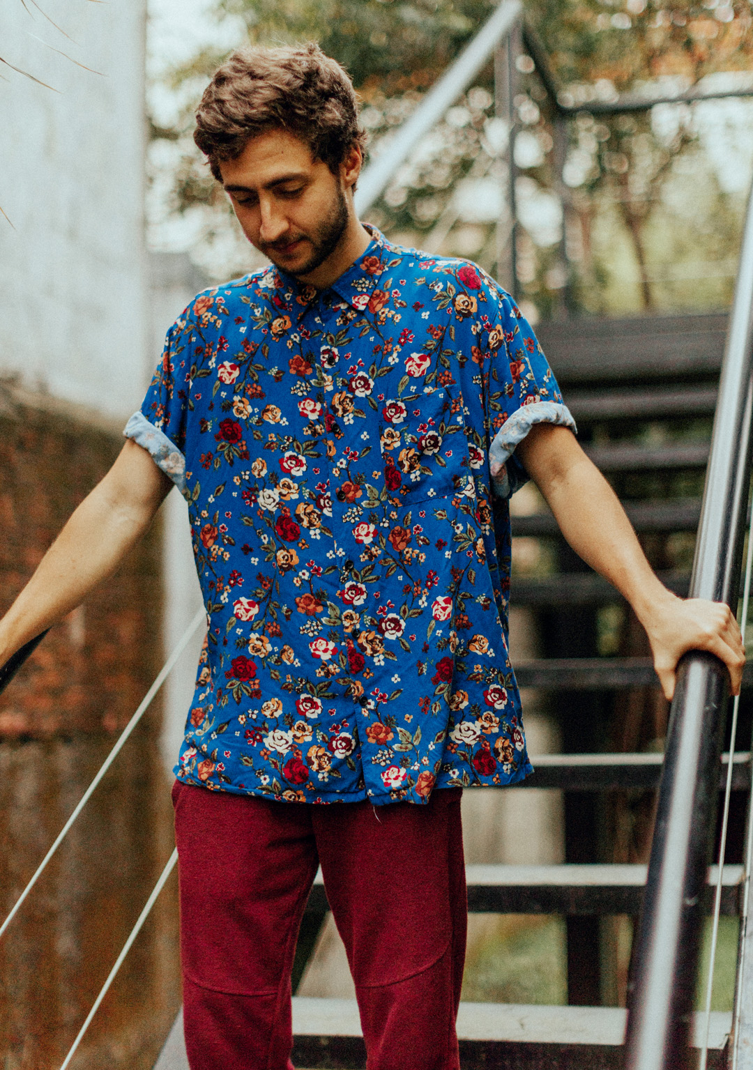 Floral Style Trends in men's shirt